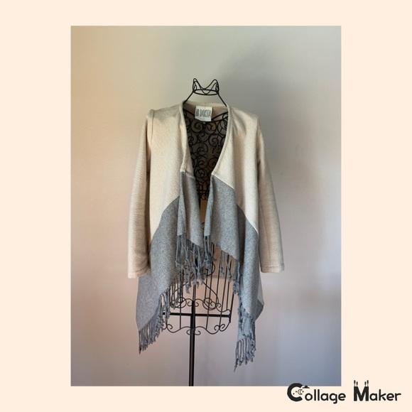BB Dakota Jackets & Blazers - EUC BB Dakota Coat With Fringe and Pockets